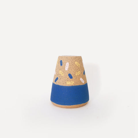 Small Dots Pattern Speckle Cone Vase