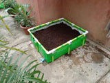 High Quality Roof Top Organic Farming Grow Bed - 500 HDPE GSM and ISI