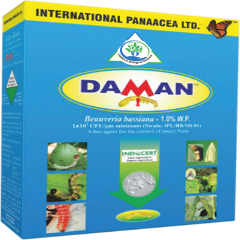 Daman – Beauveria bassiana (Wettable Powder) BioInsecticide (IPL) - Farmers Stop