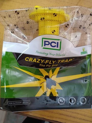 Crazy-Fly Trap to attract Flies (PCI)