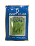 JEWELRY F1 Hybrid Hot Pepper/Chilli (Nongwoo Seed India)