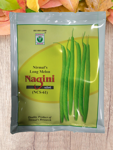 Nagini Long Melon/नागिनी ककड़ी NCS 61 (Nirmal Seeds)