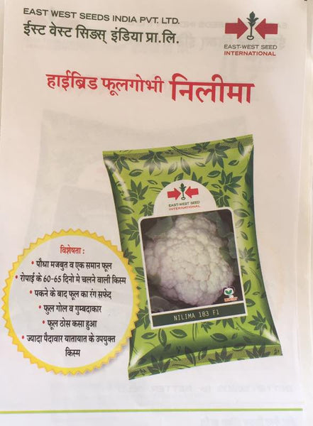 Nilima/नीलिमा F1 Cauliflower (East West Seeds) - Farmers Stop