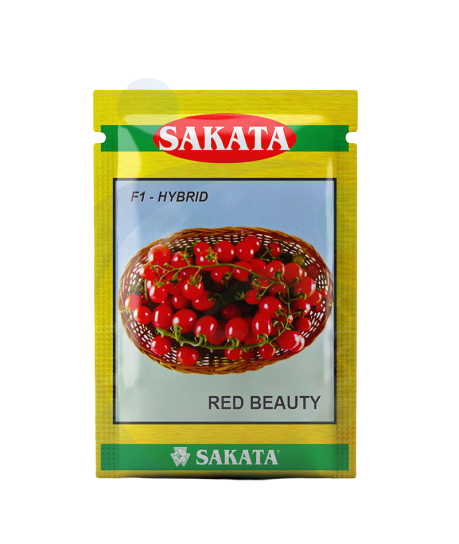 Red Beauty F1 Hybrid Cherry Tomato (Sakata Seeds)