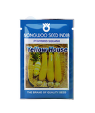 Yellow House House F1 Hybrid Squash (Nongwoo Seed India)