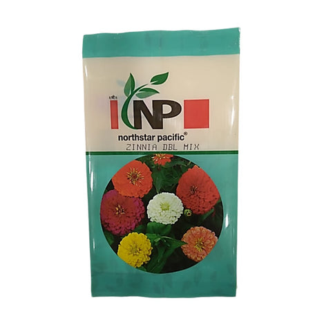 Zinnia Double Mix Small Pack (northstar® Pacific)