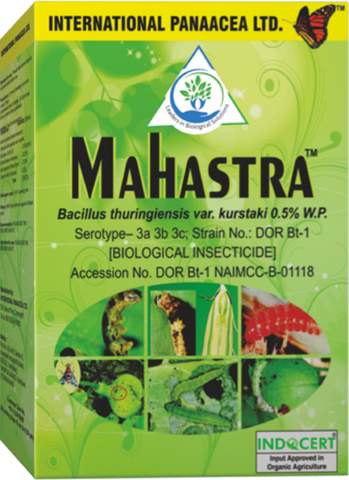 Mahastra – Bacillus thuringiensis (Wettable Powder) BioInsecticide (IPL) - Farmers Stop