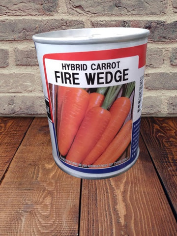 Fire Wedge Hybrid Carrot (Takii Seeds)