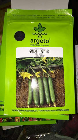Ganimet (Tasty) F1 Cucumber for Open Cultivation (Argeto Seeds) - Farmers Stop