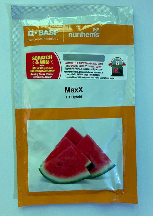 Maxx/मैक्स F1 Hybrid Watermelon (Nunhems) - Farmers Stop