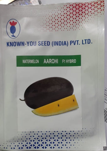 Aarohi/आरोही Hybrid Watermelon Yellow Flesh (Known You Seeds)