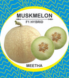 Meetha/मीठा F1 Muskmelon Honey Dew Type (Konico Seeds)