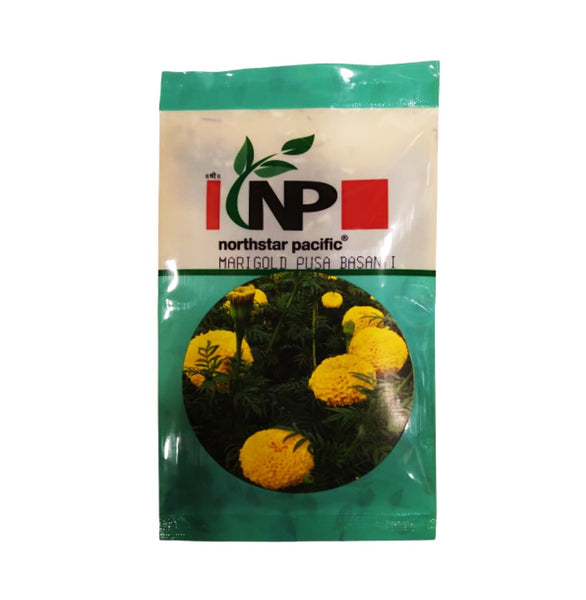 Pusa Basanti Yellow Marigold Small Pack (northstar® Pacific)
