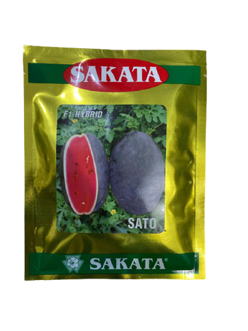 Sato/साटो Hybrid F1 Watermelon (Sakata Seeds)
