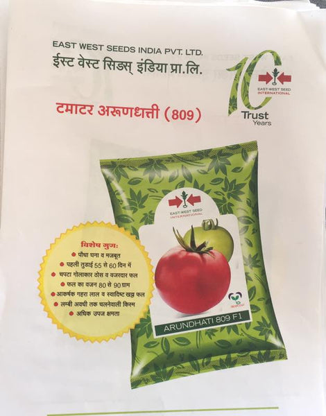 Arundhati/अरुंधति 809 Tomato (East West Seeds) - Farmers Stop