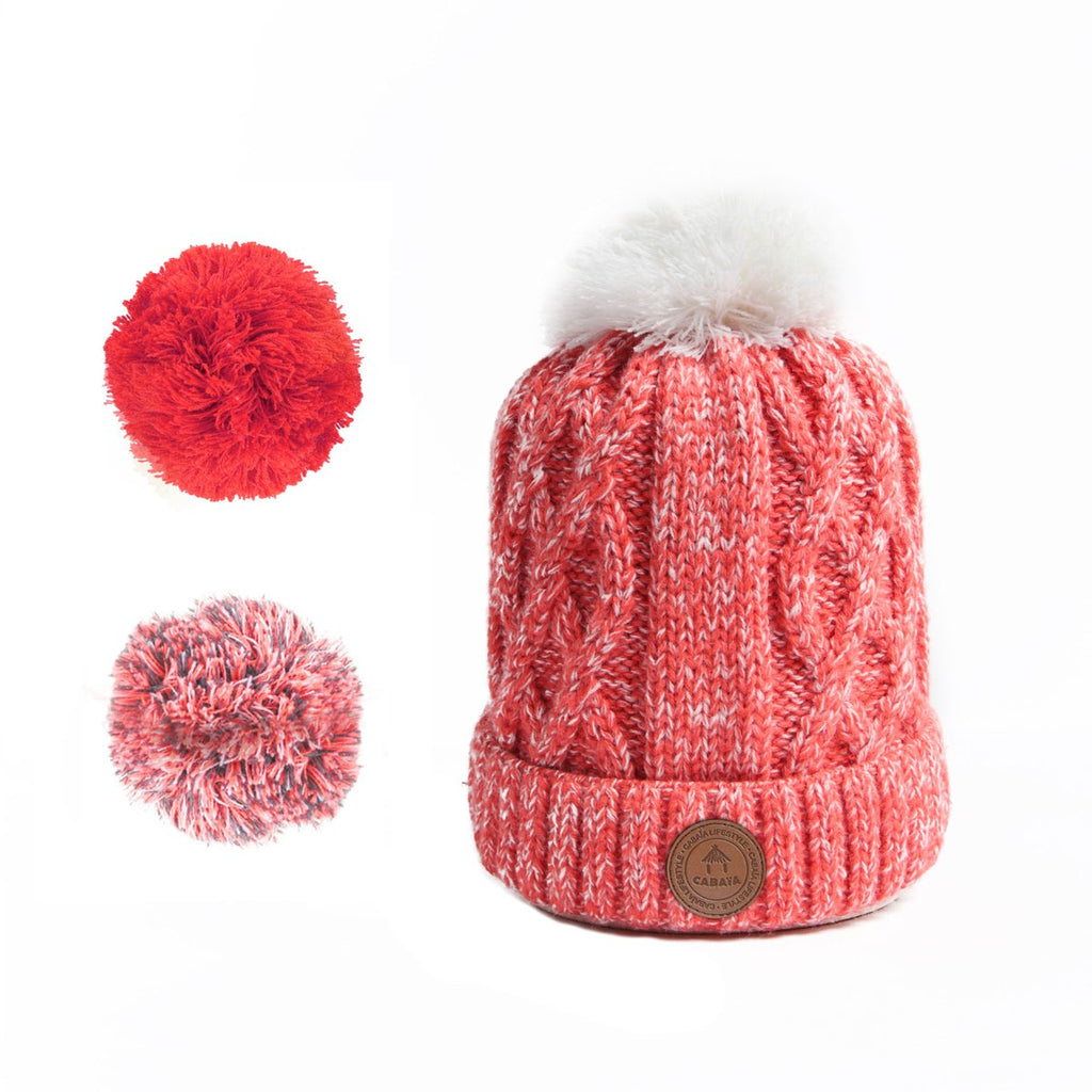Bonnet Cabaia Appletini Rose/Corail