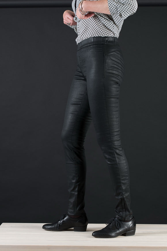Pantalon noir super stretch