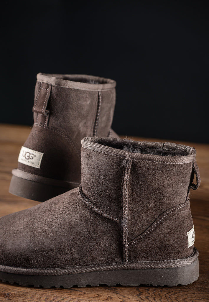 Bottines Classic Mini Chocolat