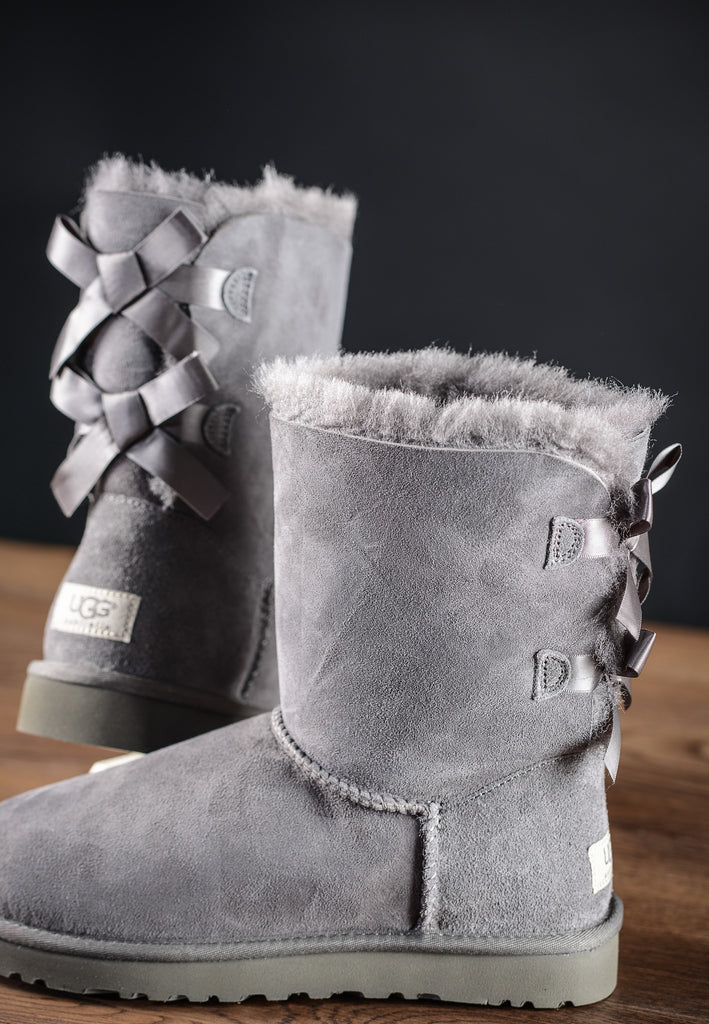 Bottines Bailey Bow Gris