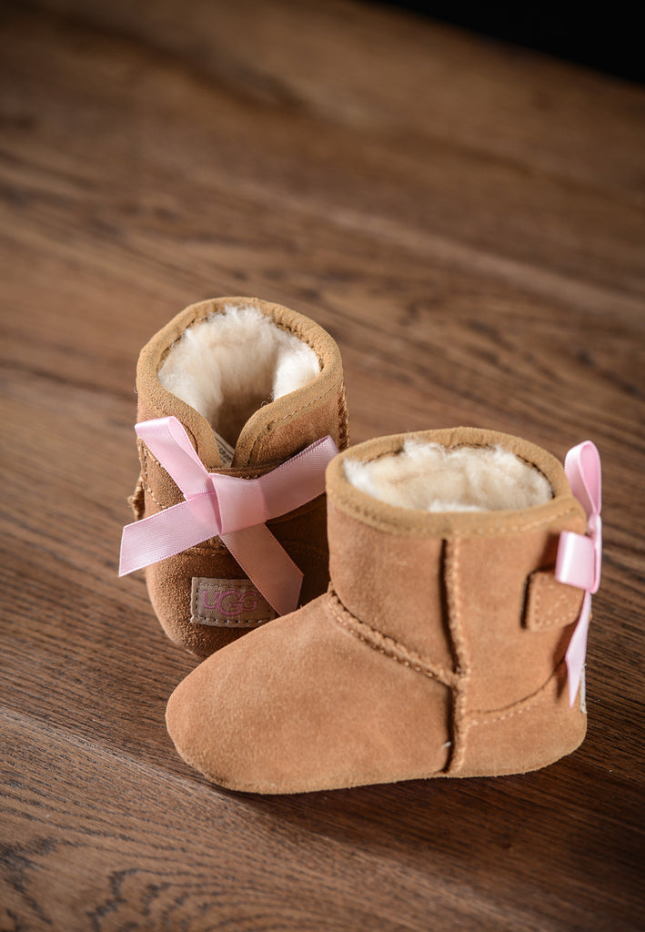 Bottines Jesse Bow Baby Noisette
