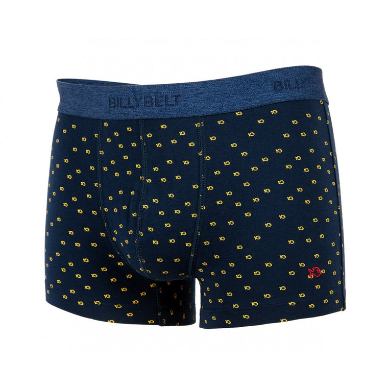 Boxer short elastique BILLYBELT blue-yellow