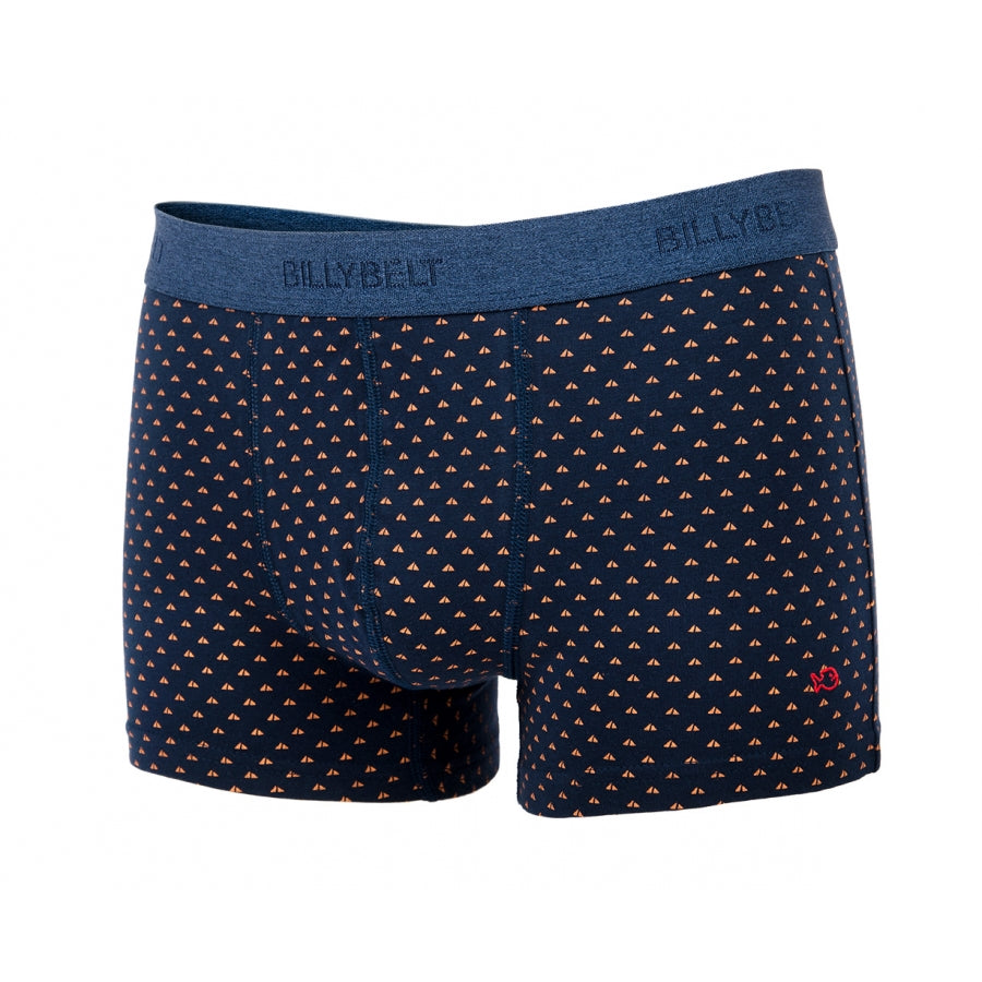 Boxer short elastique BILLYBELT navy-sail