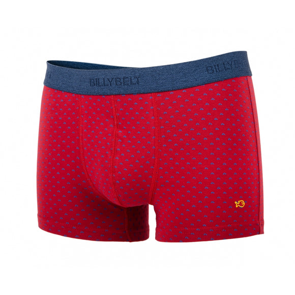 Boxer short elastique BILLYBELT red-sail