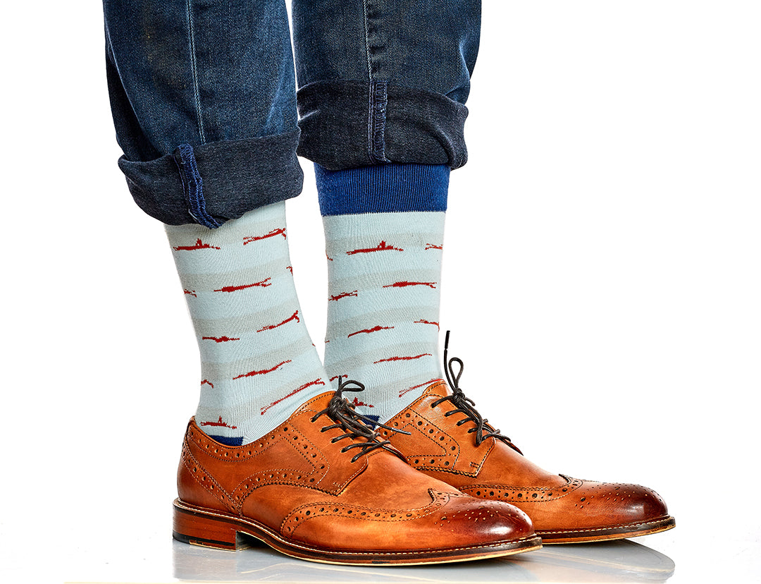 Polished Man - Michael Klim Sock
