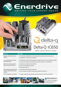 Delta-Q IC650 48v Battery Charger
