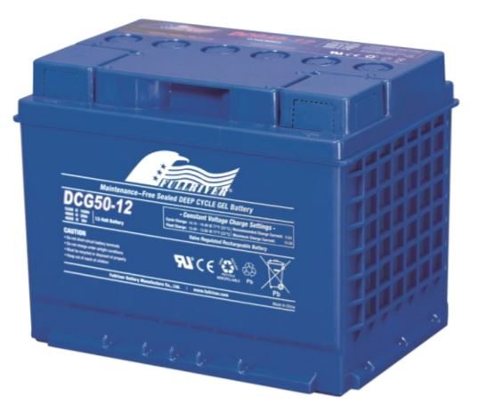 Fullriver 12V 50Ah Deep Cycle GEL Battery