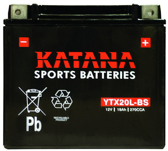 Motorbike battery YTX20L-BS