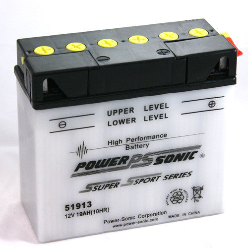 Motorbike battery 12v 19Ah  BMW replacement 51913