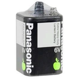 Panasonic Extra Heavy Duty 6v Lantern battery