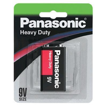 Panasonic Heavy Duty Smoke Alarm Battery 9v