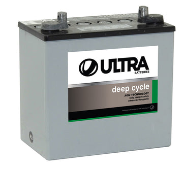 Ultra Deep Cycle AGM Battery 12V 55Ah