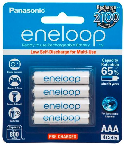 Eneloop AAA Rechargeable Battery 4 Pack