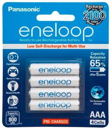 Panasonic Eneloop AAA Rechargeable Battery 4 Pack