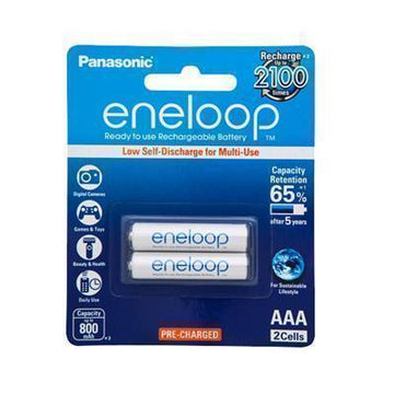 Panasonic Eneloop AAA Rechargeable Battery 2 Pack