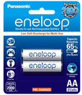 Panasonic Eneloop AA Rechargeable Battery 2 Pack