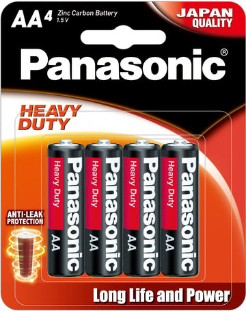 Panasonic Heavy Duty AA battery