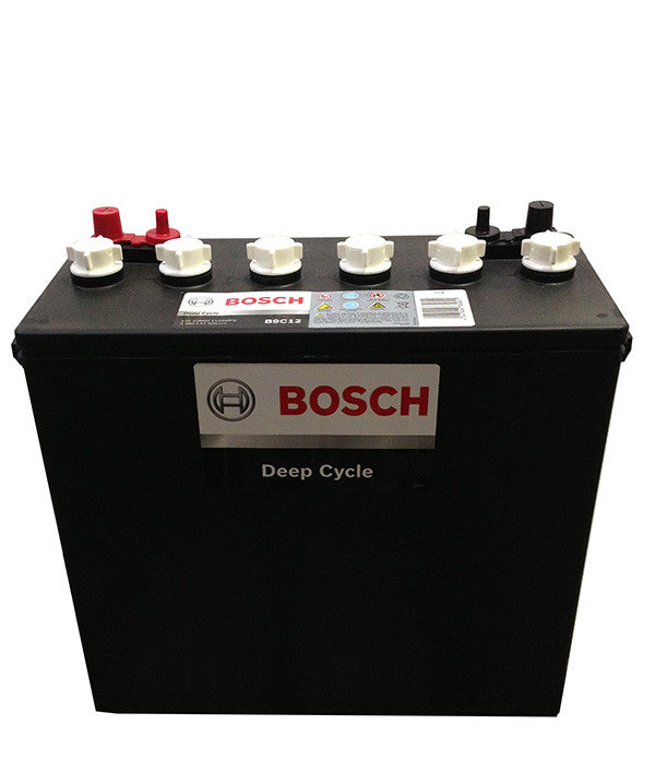 Deep Cycle Battery Flooded Bosch 12v 228Ah
