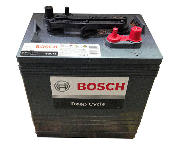 Deep Cycle Battery Flooded Bosch 6v 255Ah