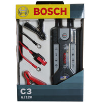 Car battery charger, 6v, 12v C3 Bosch charger