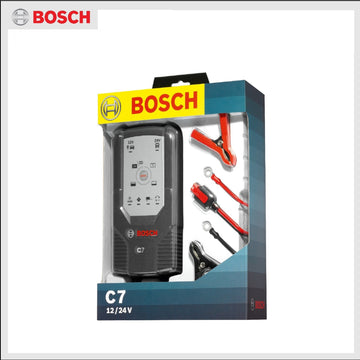 Bosch C7 12v & 24v Battery Charger 7 Amp