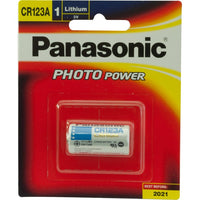 Panasonic CR123A Lithium Battery
