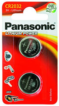 Panasonic CR-2032 Lithium Battery 2 pack