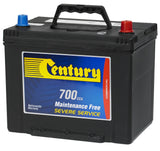 Century NS70ZLMF battery 700cca