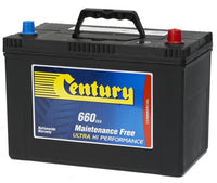 Century Commercial N70ZLMF battery 660cca