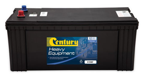 Century Commercial N150MF battery1000cca