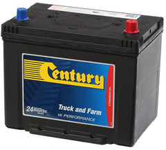 Century NS70L battery 580cca